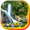 Jungle Waterfall LiveWallpaper icon