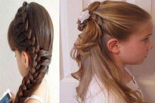 Kids School Hairstyles 1.2 screenshots 1