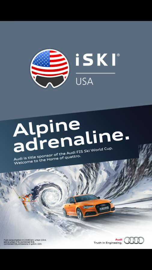 iSKI USA- screenshot