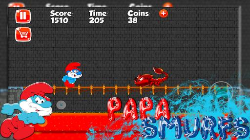 Papa Adventure Smurf Leps World 1.0 screenshots 3