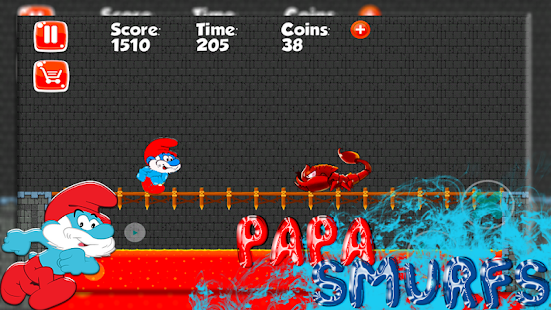 Papa Adventure Smurf Leps World - náhled