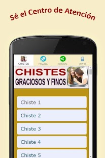 Chistes Graciosos y Finos- screenshot thumbnail