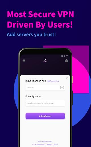 Tachyon VPN - Private Free Proxy 2.2.1 Screenshots 6