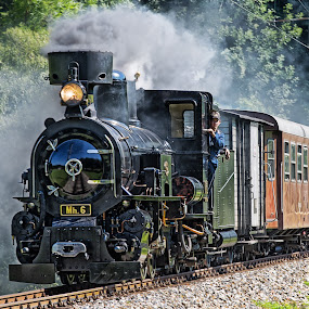 Mariazellerbahn Austria by Christoph Reiter - Transportation Trains ( eu, europe, locomotive, austrian alps, austria, steam )