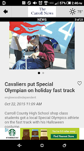The Carroll News- screenshot thumbnail