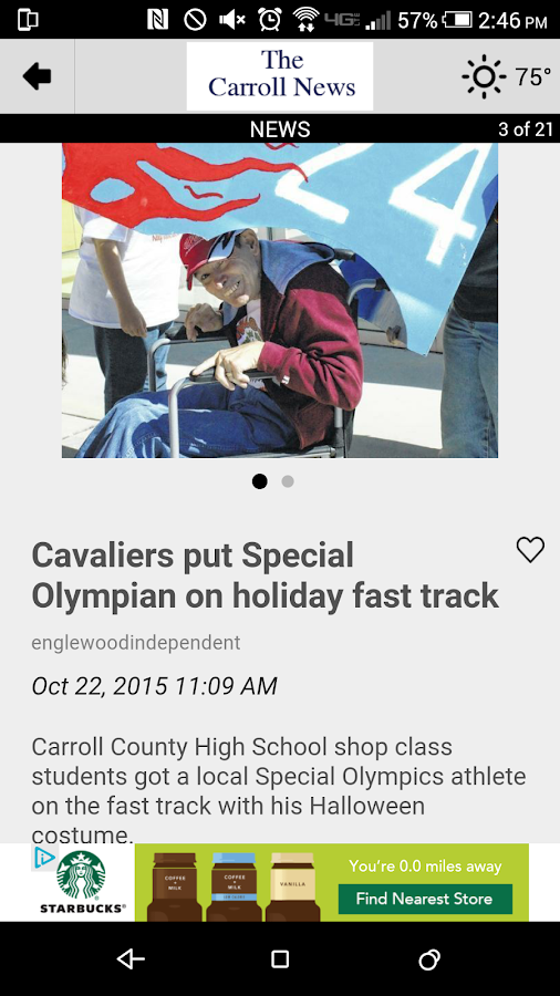 The Carroll News- screenshot