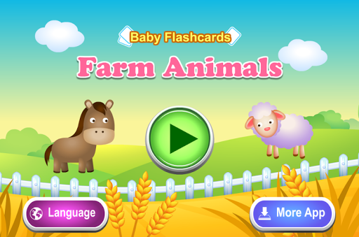 Kids Flashcards - Farm Animals