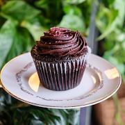 Gluten Free Vegan Chocolate Cupcake!