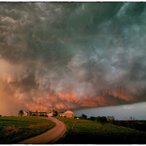 Light on the Wall by James Bokovoy - News & Events Weather & Storms