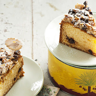 Date and Almond Cake.