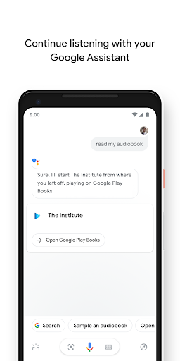 Google Play Books - Ebooks, Audiobooks, and Comics 5.10.7_RC09.322191915 Screenshots 4