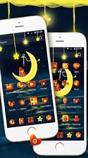 Star Night Moon Theme - náhled