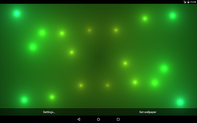 Fireball Live Wallpaper Pro - screenshot
