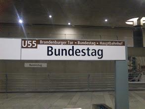 Photo: subway station of a 3-stop subway