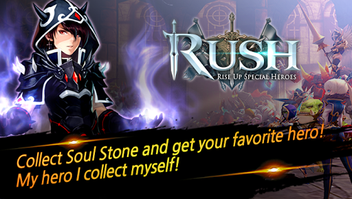 RUSH : Rise up special heroes  {cheat|hack|gameplay|apk mod|resources generator} 1