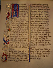 Photo: James' poem illuminated - from Catherine of Cleves hours