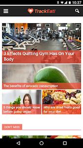 TrackEat - Healthy Living screenshot 3