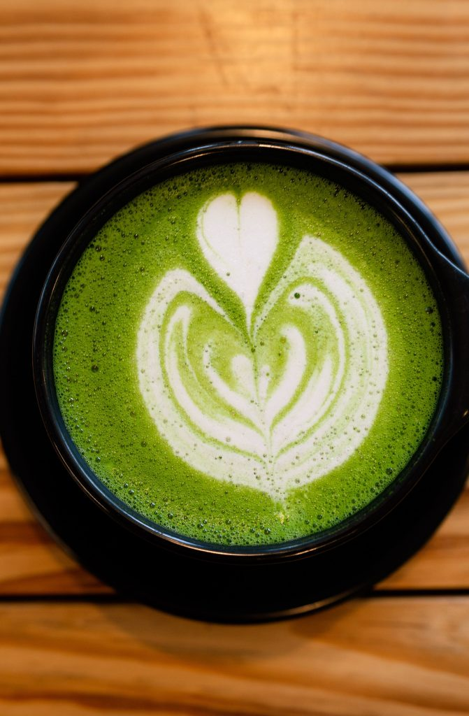 Matcha Love by Unsplash user MJ Tangonan