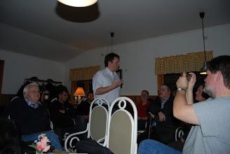 Photo: Ett 30 tal intresserade åhörare var på plats