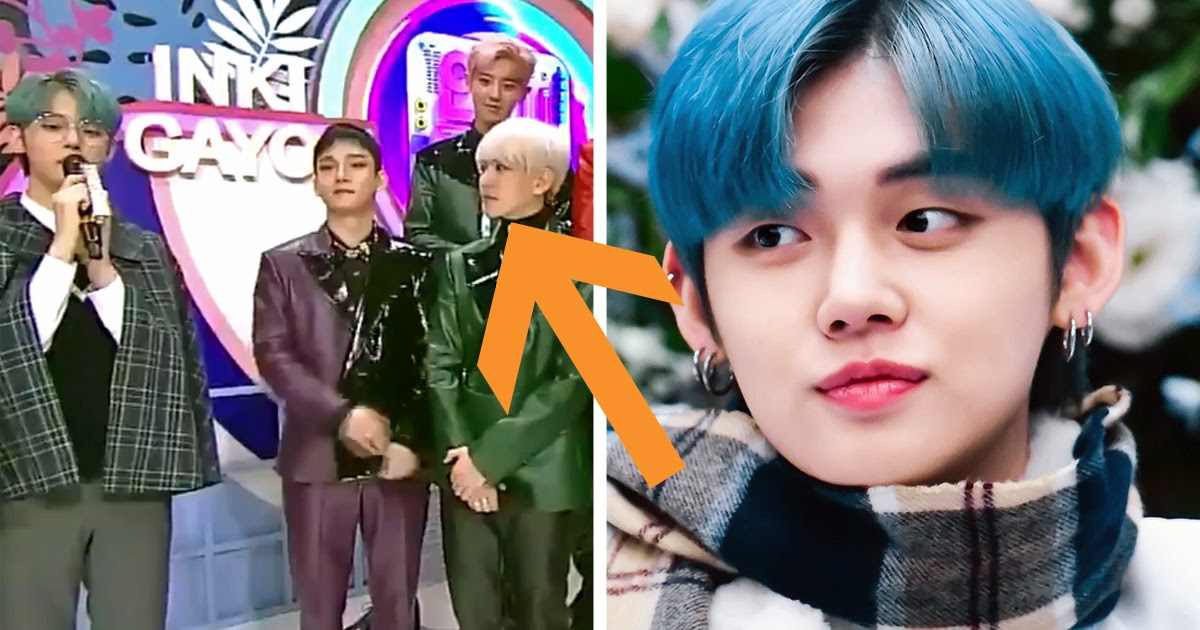 EXO's Baekhyun Couldn't Hide His Reaction To TXT's Yeonjun ...