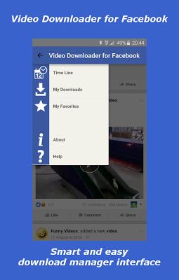 Video Downloader For Facebook - screenshot