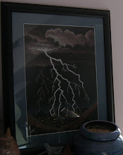 Photo: This is the second in the series that I stitched for my MIL. The framing on these two photos came out beautifully.