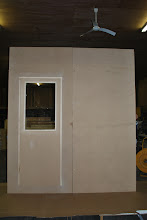 Photo: attach sandwich panels at the edges