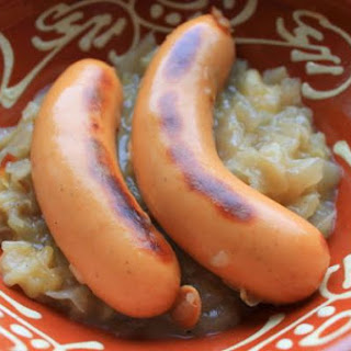 Knockwurst With Sauerkraut
