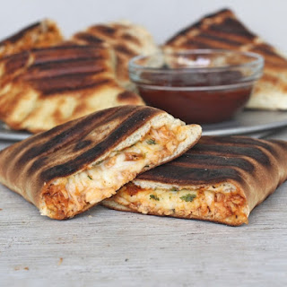 Grilled BBQ Chicken Calzones Recipe