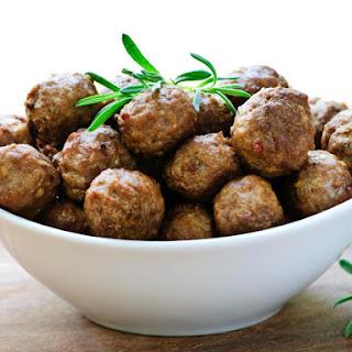 Baked Meaty Meat-Balls