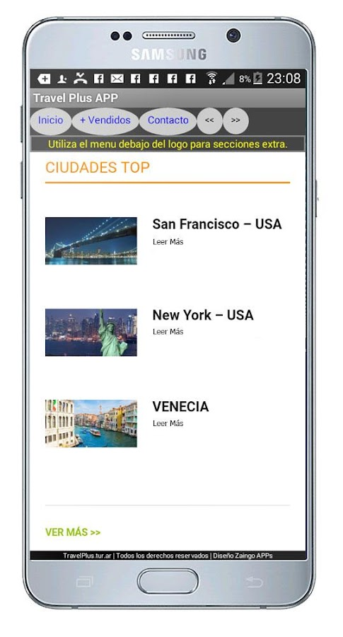 Travel Plus Viajes- screenshot