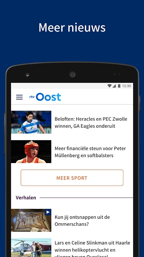 RTV Oost- screenshot