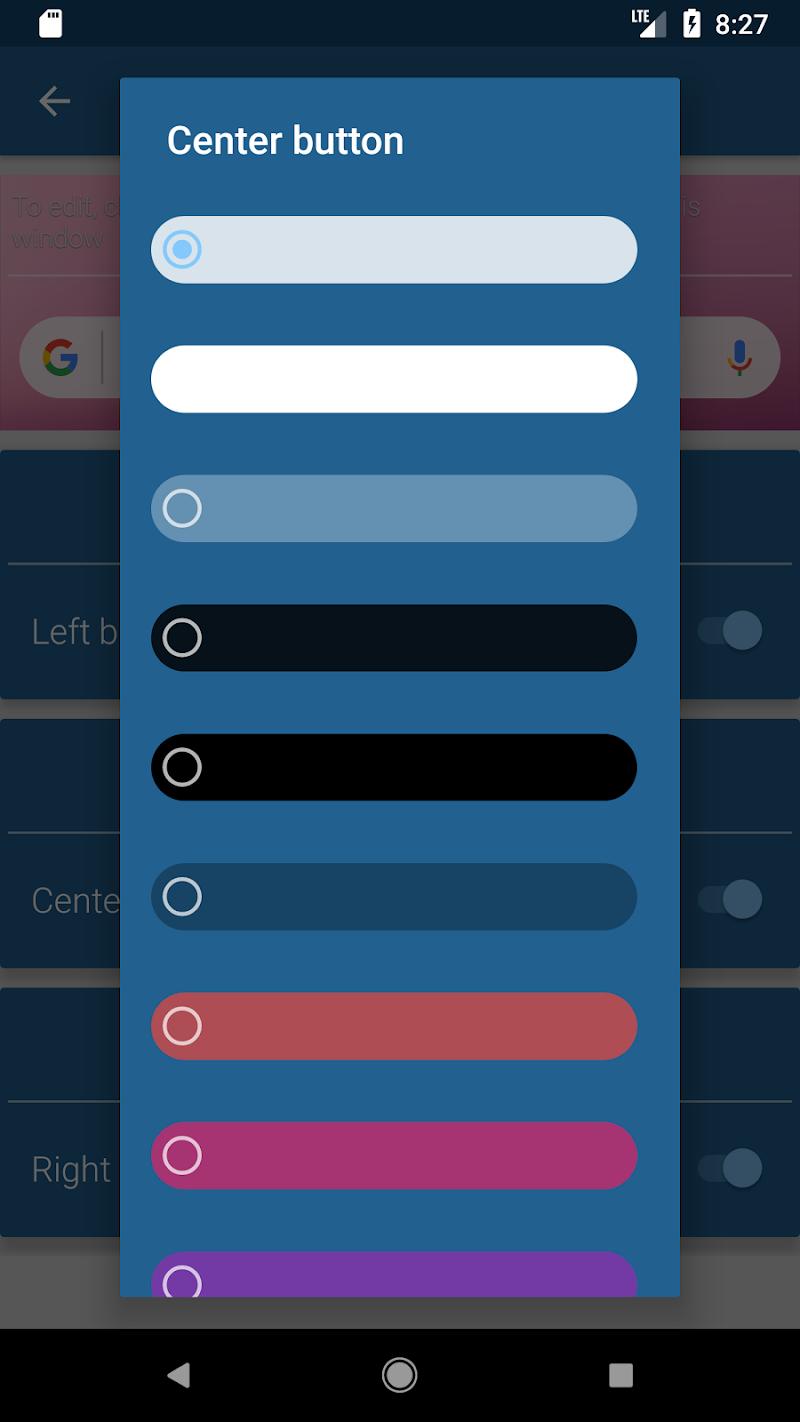 Vizorg Widget - Configure search bar Screenshot 5