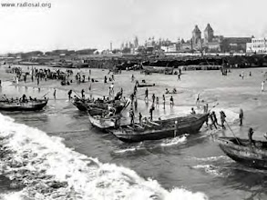 Photo: Madras harbour