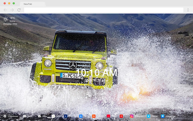 Off-road 4x4 vehicles New Tabs HD Cars Themes