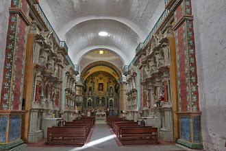 Photo: Interior de la Iglesia Madrigal, Caylloma - Arequipa
