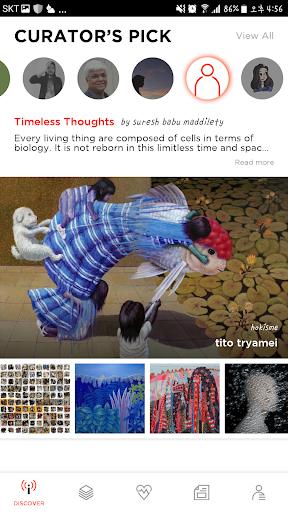 BBuzzArt: Sell & Buy Fine Art, Artworks, Painting 4.4.1 screenshots 5