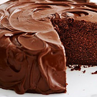 Nutella Chocolate Cake.