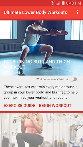Ultimate Lower Body Workouts screenshot 1
