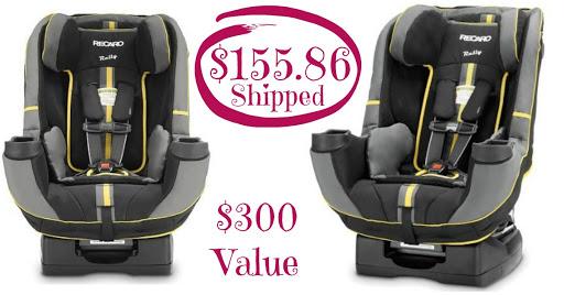 Recaro Car Seat $155.86 SHIPPE...