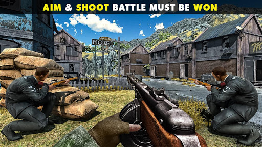 WW2 US Commando Strike Free Fire Survival Games 1.8 4