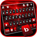 Red Flash 3D Keyboard Background icon