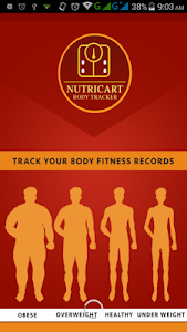 Nutricart Body Tracker screenshot 0