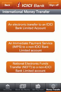 ICICI Bank Mobile- Canada screenshot 5