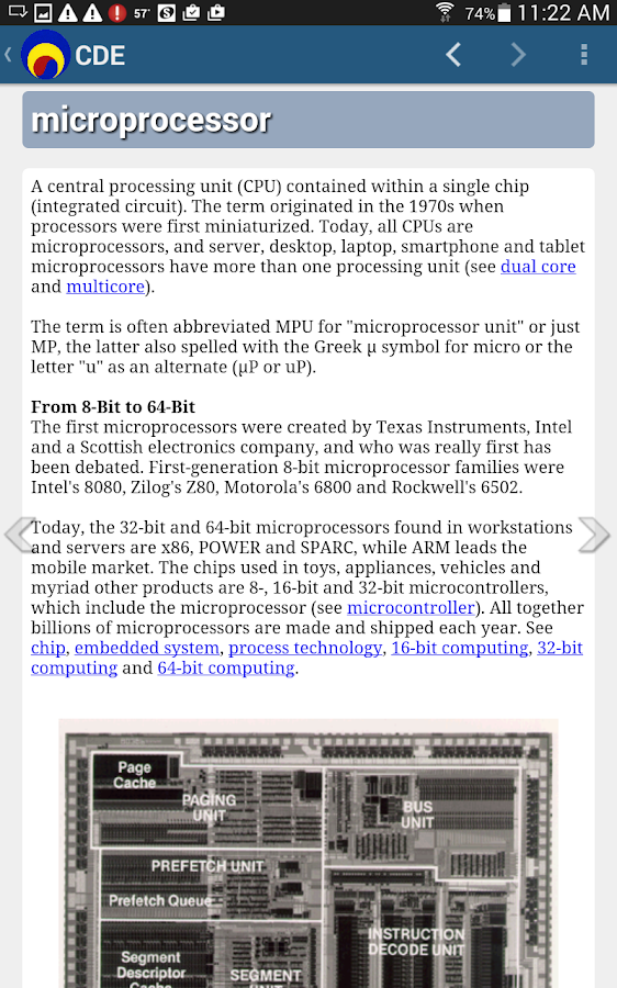 Computer Desktop Encyclopedia - screenshot