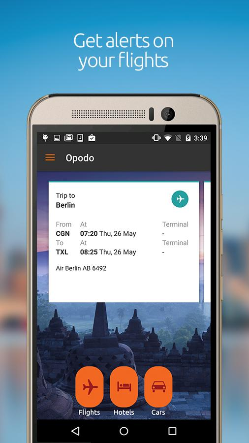 Opodo - Flights, Hotels & Cars- screenshot