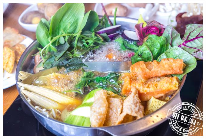 上竹林食草館養生汆燙鍋-素食