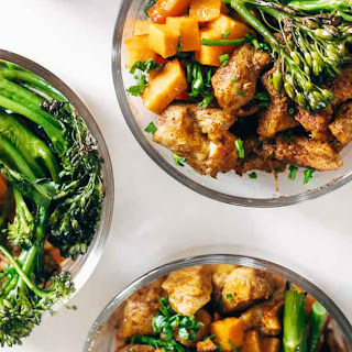 Spicy Chicken Sweet Potato Meal Prep Magic Bowls Recipe