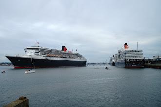 Photo: Queen Mary Queen Victoria & Queen Elizabeth