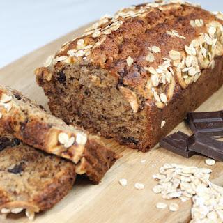 Chocolate Oat Banana Bread.